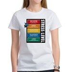 STRESS LEVEL - severe Women's T-Shirt