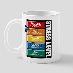 STRESS LEVEL - severe Mug