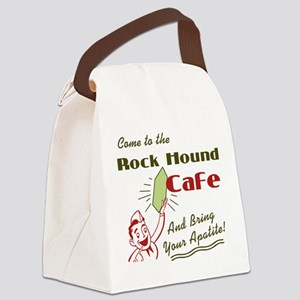 rockhoundcafe Canvas Lunch Bag