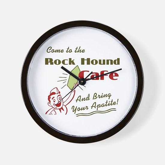 rockhoundcafe.png Wall Clock