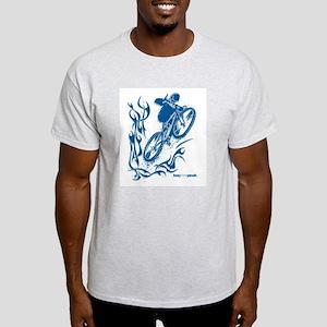 BAG THE PEAK Ash Grey T-Shirt