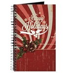 Rustic Holly Vintage Journal