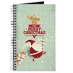 Tiny Santa With Presents Journal