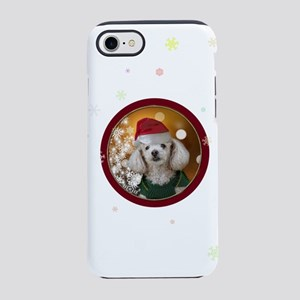 Christmas Toy Poodle iPhone 8/7 Tough Case