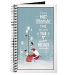Snowy Christmas Night Journal