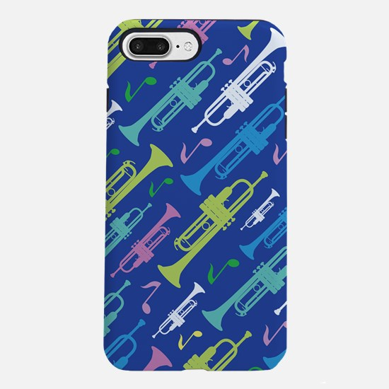 Trumpet Player music Gi iPhone 8/7 Plus Tough Case