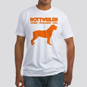 Rottweiler Fitted T-Shirt