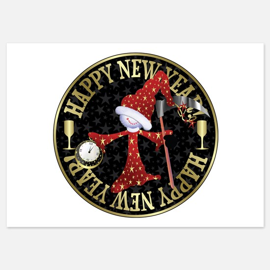 Happy New Year 5x7 Flat Cards