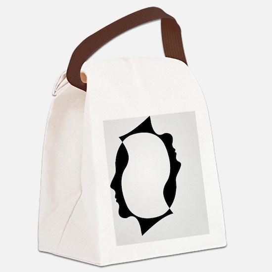 Cute Businessman Canvas Lunch Bag