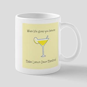 Lemon Drop Martinis Mugs