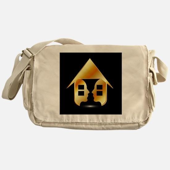Cute Concentration Messenger Bag