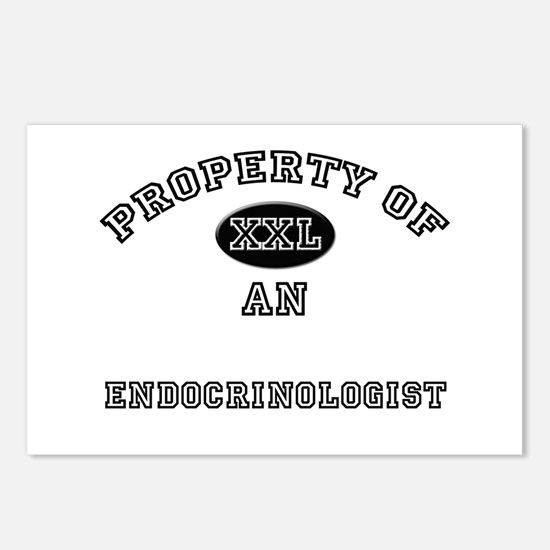 Property of an Endocrinologist Postcards (Package