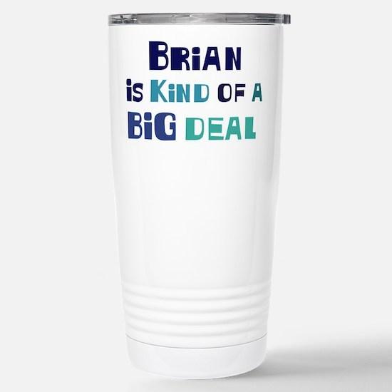 Brian is a big deal Mugs