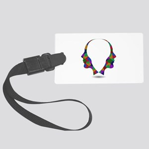 Different point of view of persp Large Luggage Tag