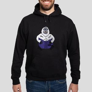 Abominable Snowman Reading Global Wa Hoodie (dark)