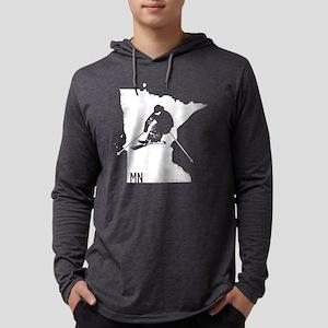 Ski Minnesota Long Sleeve T-Shirt