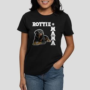 ROTTIE MAMA Women's Dark T-Shirt