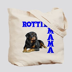 ROTTIE MAMA (both sides) Tote Bag
