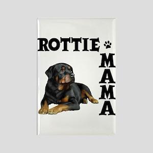 ROTTIE MAMA Rectangle Magnet