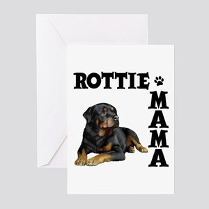 ROTTIE MAMA Greeting Cards (Pk of 10)