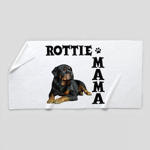 ROTTIE MAMA Beach Towel