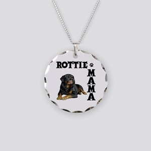 ROTTIE MAMA Necklace Circle Charm