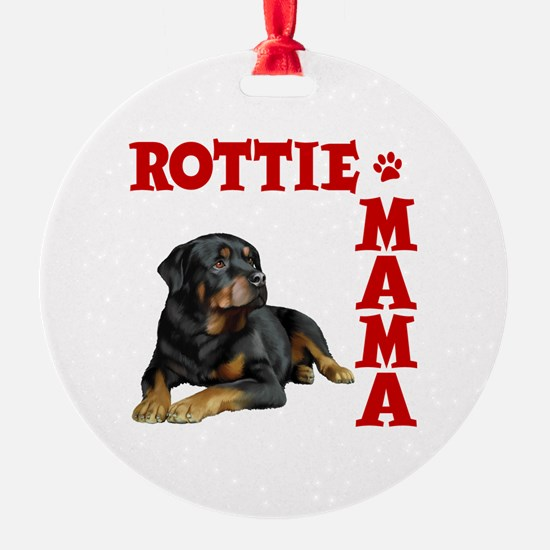 ROTTIE MAMA Ornament