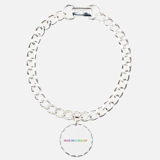 Peace Love Kennedy Bracelet