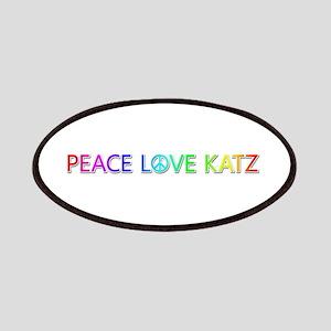 Peace Love Katz Patch