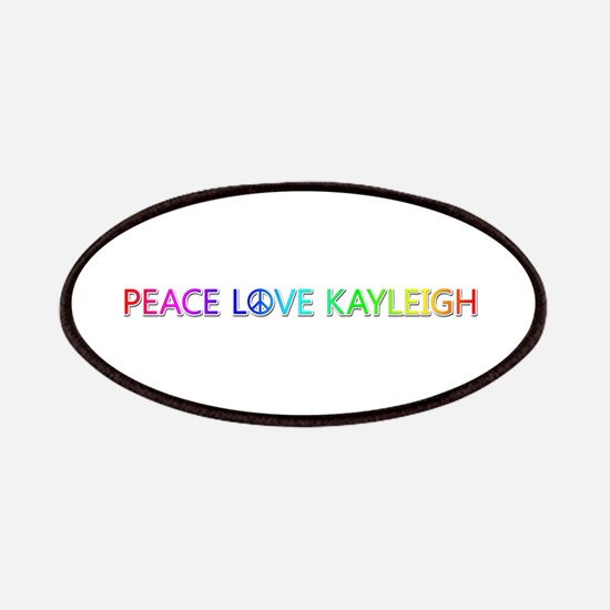 Peace Love Kayleigh Patch