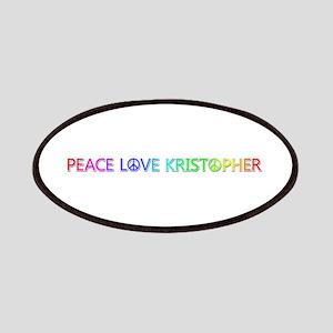 Peace Love Kristopher Patch