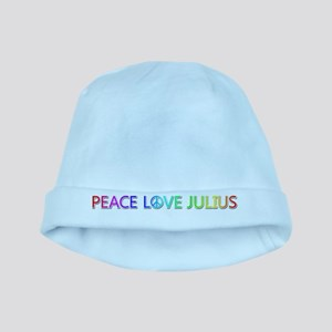 Peace Love Julius baby hat