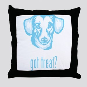 Miniature Dachshund Throw Pillow