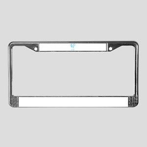 Miniature Dachshund License Plate Frame