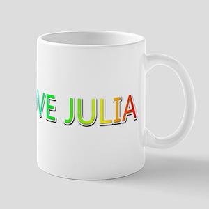 Peace Love Julia Mugs