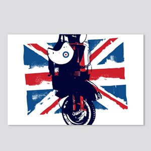 Union Jack Scooter Postcards (Package of 8)