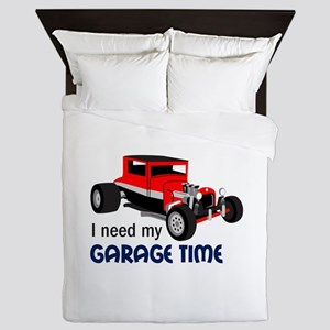 Need Garage Time Queen Duvet