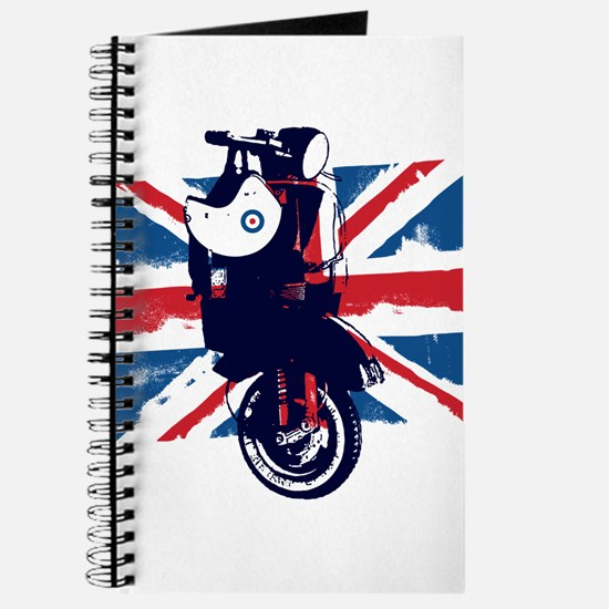 Union Jack Scooter Journal