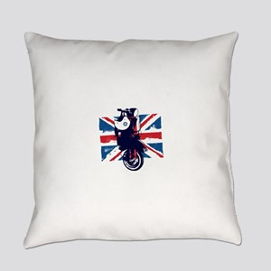 Union Jack Scooter Everyday Pillow