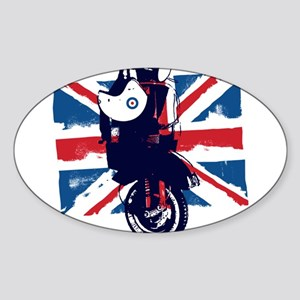 Union Jack Scooter Sticker