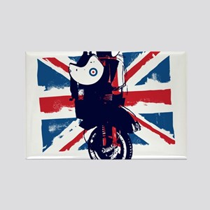 Union Jack Scooter Magnets