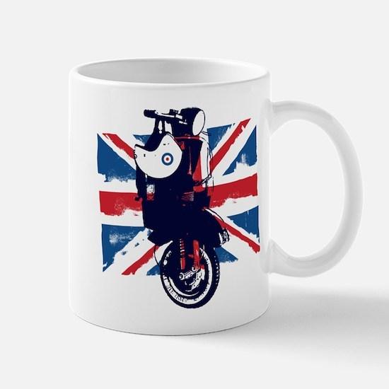 Union Jack Scooter Mugs