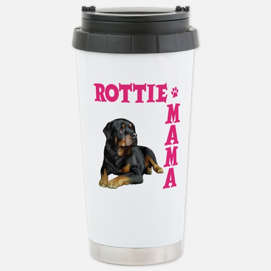 ROTTIE MAMA Stainless Steel Travel Mug