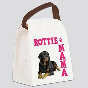 ROTTIE MAMA Canvas Lunch Bag