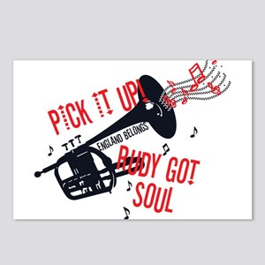 Rudy Got Soul Postcards (Package of 8)