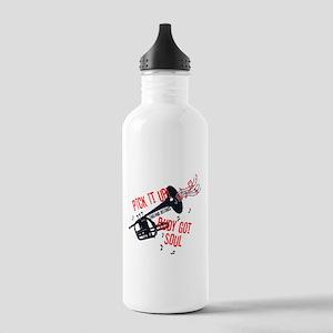 Rudy Got Soul Water Bottle