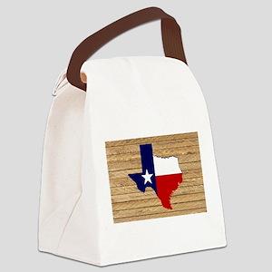 Great Texas Lt Barn Wood Canvas Lunch Bag
