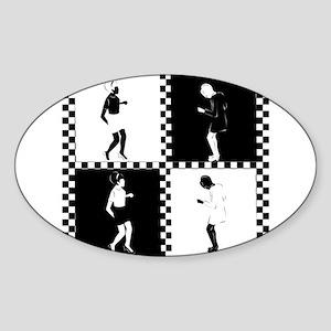 Ska Dancers Sticker