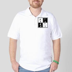Ska Dancers Golf Shirt