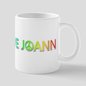 Peace Love Joann Mugs